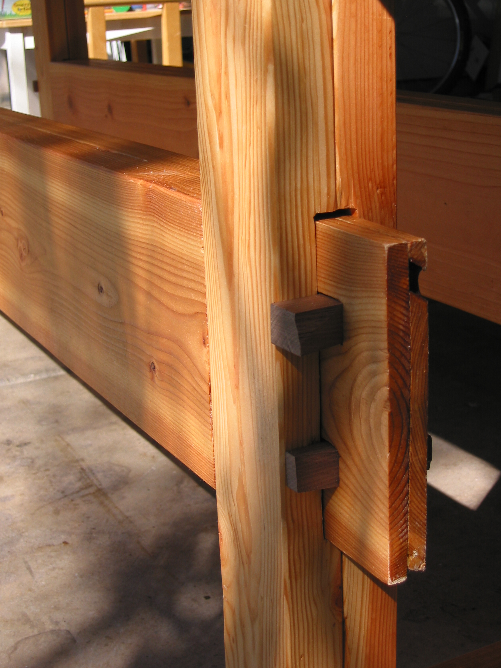 Make Wooden Bed Frame Stop Squeaking Mortise And Tenon