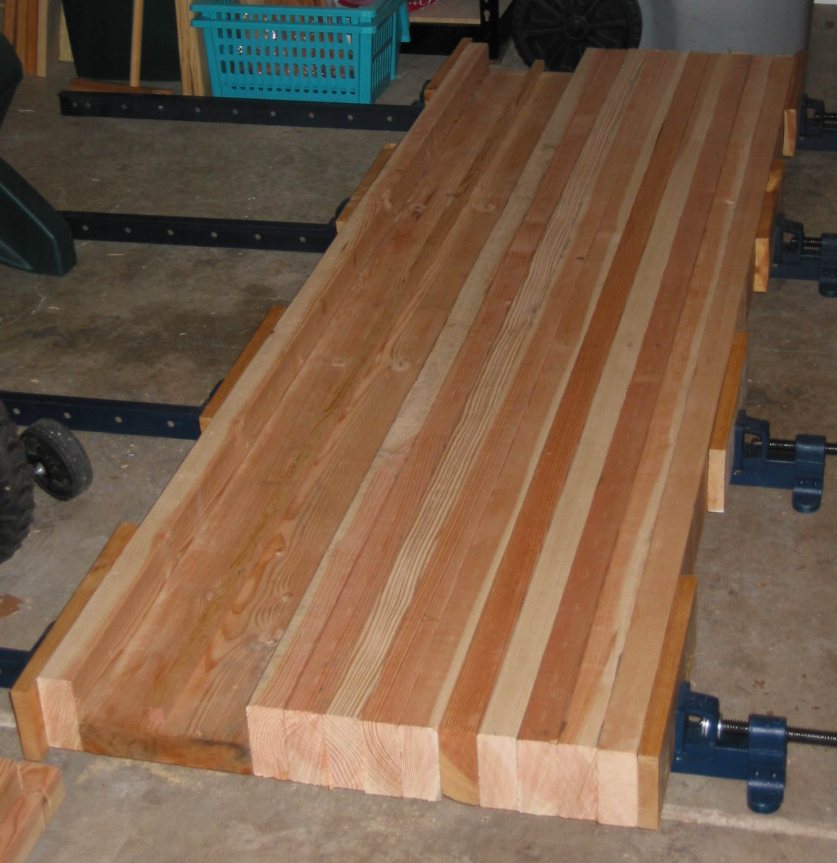 Building A Woodworking Bench Top